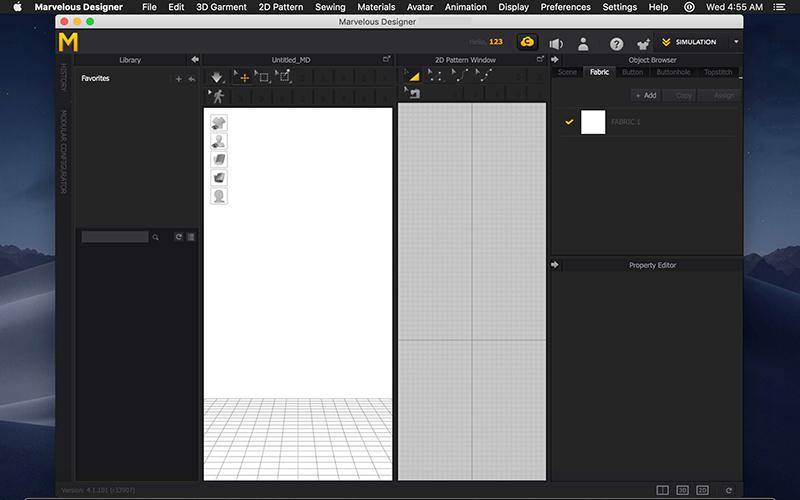 Marvelous Designer 10 Mac