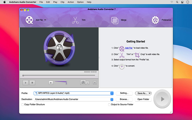 Avdshare Audio Converter Mac