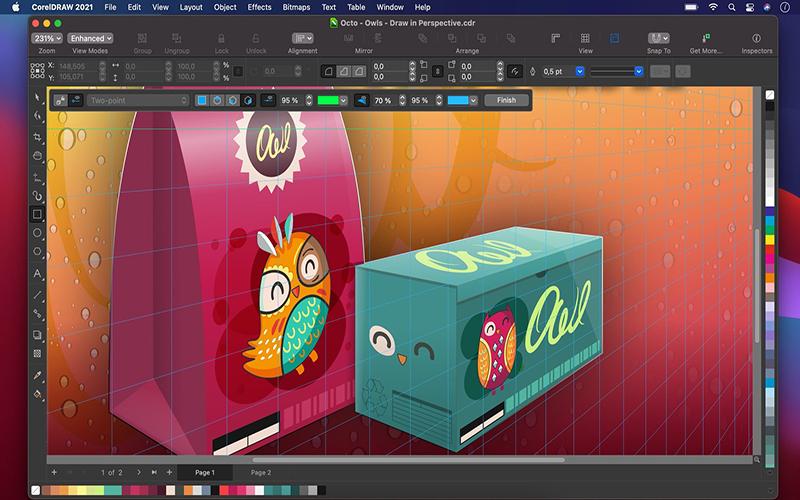CorelDRAW Graphics Suite 2021 mac