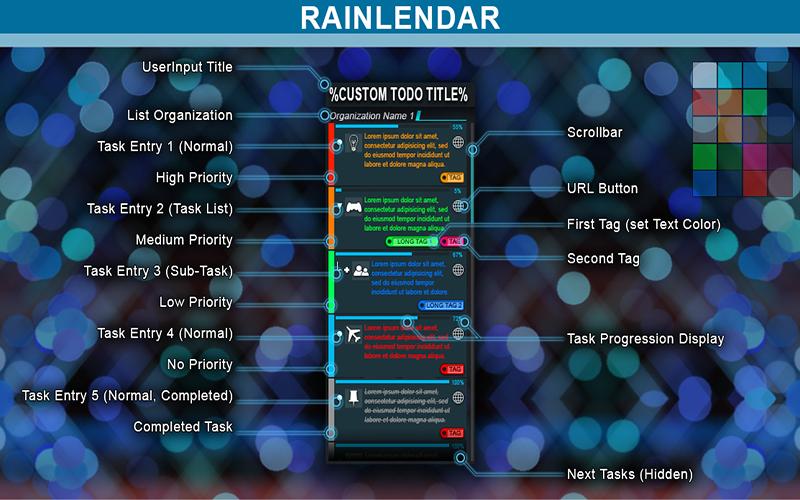 Rainlendar Pro Mac