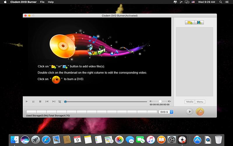 Cisdem DVDBurner Mac