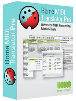 Bome MIDI Translator Pro