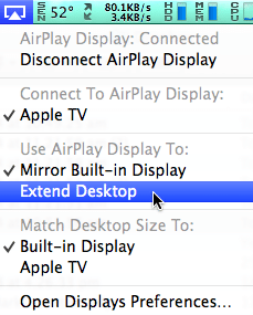 extend desktop