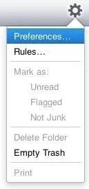 iCloud prefs