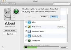 iCloud Find my Phone