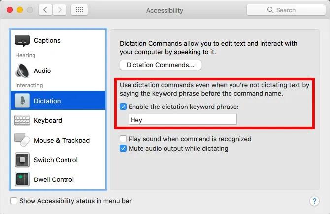 Siri-set-trigger-phrase