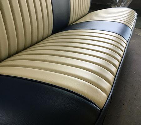 Classic Car Upholstery Seat Restoration