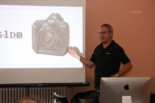 mit Dieter Küpperbusch, Professional CIG von CANON Deutschland