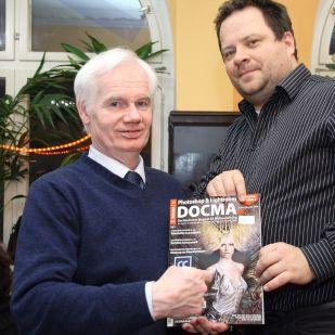 Gerhard P. nahm ein DOCMA-Heft mit