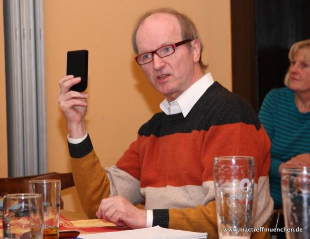 113. Treffen: Selbsthilfe am Mac u. Netzwerk zu Hause mit Peter Brendel