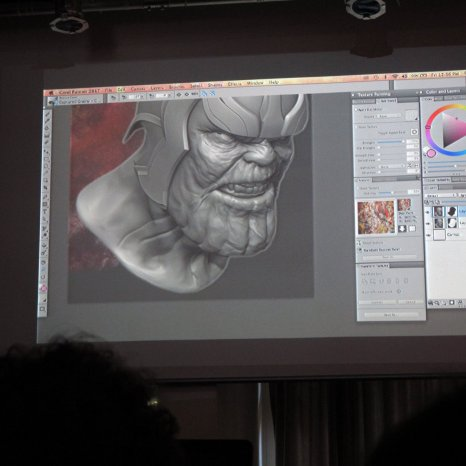 Corel Painter 2017 Preview im Arts 'n Boards