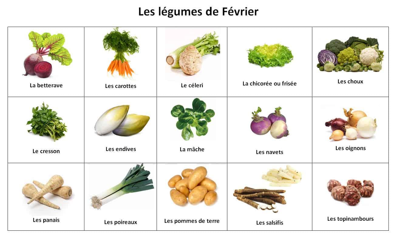 légumes février