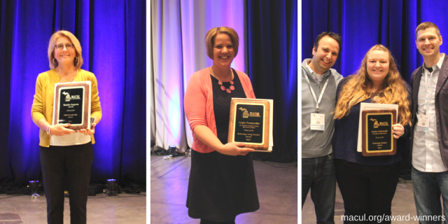 2017 MACUL Award Winners