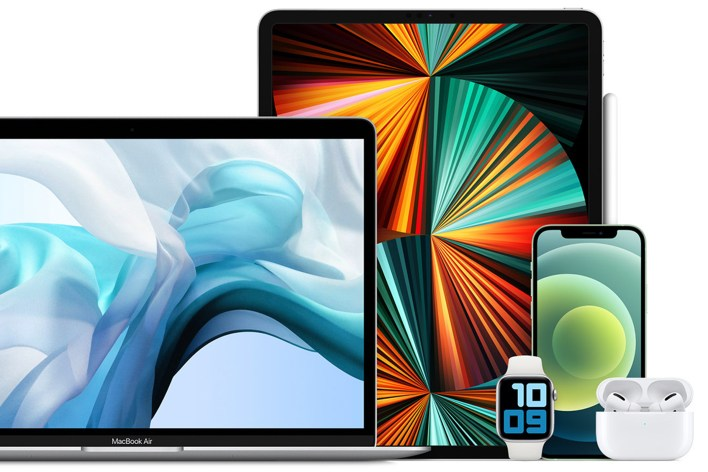 Apple family of products