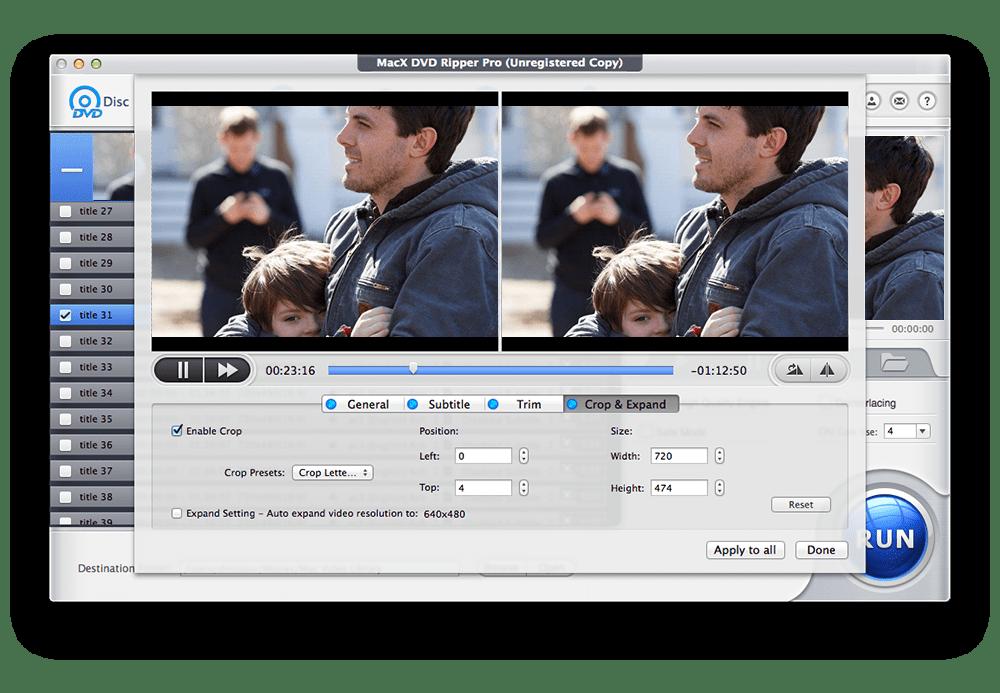 MacX DVD Ripper Pro 6 for Mac 6.5.5 破解版 - 全能DVD格式转换器