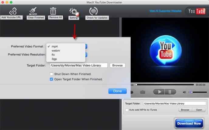 哈西尔·甘巴 untuk MacX YouTube 下载器 2020
