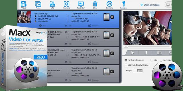 MacX Video Converter Pro 6.5.3 Mac 破解版 - 视频格式转换工具