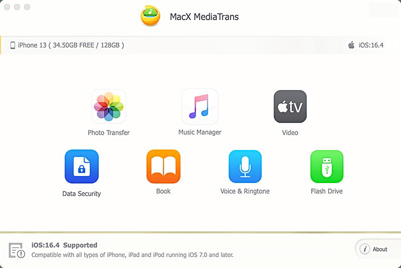 MediaTrans 6.4.20181213 Mac 破解版 - iPhone内容管理器