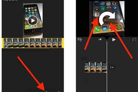How to rotate video on iphone 4k pictures 4k pictures full hq how to rotate videos on the iphone now take your thumb and forefinger and turn the video so it is rotated correctly here s steps how to rotate video on ccuart Image collections