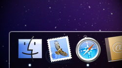 Not digging the 3D glass Dock in 10.5 and 10.6? Enable 2D mode
