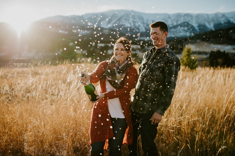 engagement session champagne