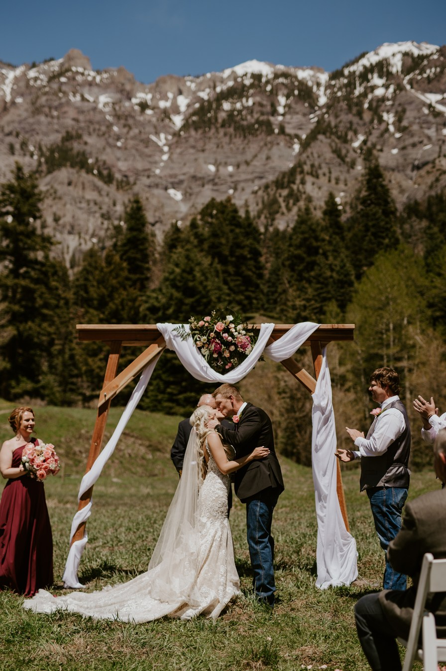 Ouray Colorado elopement