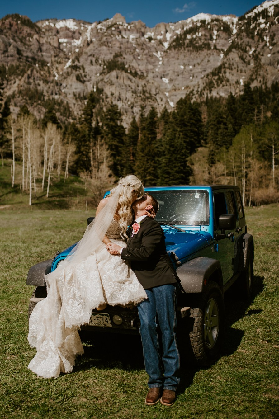 jeep wedding