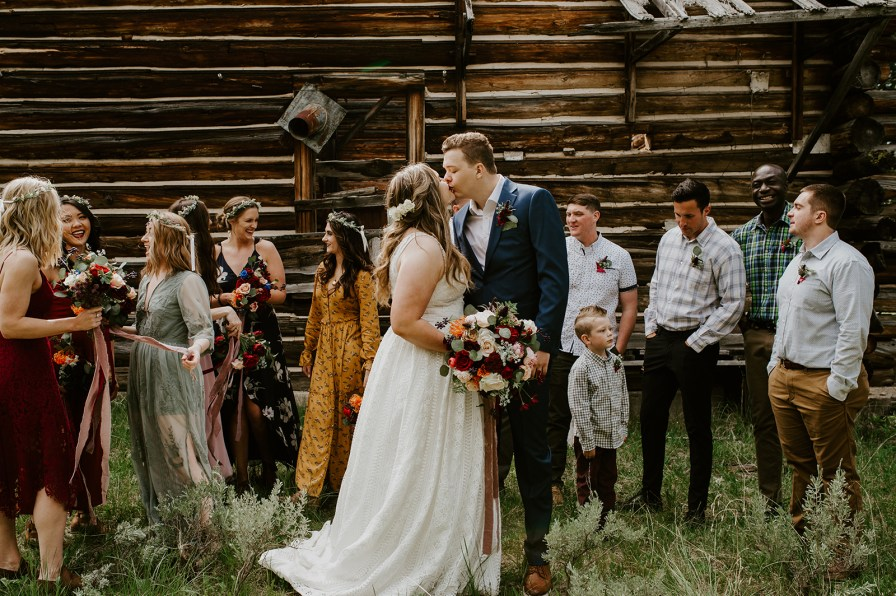 cabin bridal party