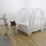 Children S Princess Carriage Bed For Little Princesses Madaame
