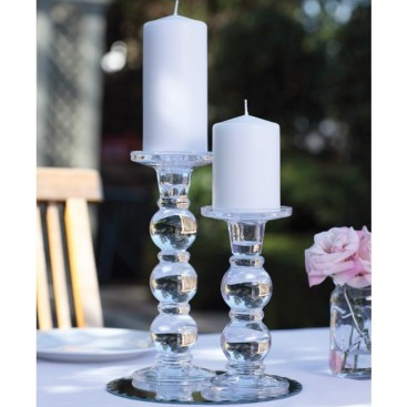 Objects Of Design 126 Chunky Glass Candlestick Mad About The House