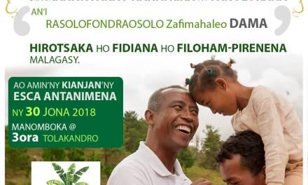 Le chanteur Dama du groupe Mahaleo candidat à la présidentielle