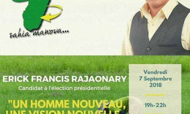 Erick Rajaonary : Un PDG candidat à l'élection présidentielle 2018 à Madagascar