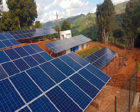 Électrification rurale : Deux nouveaux villages équipés en énergie solaire