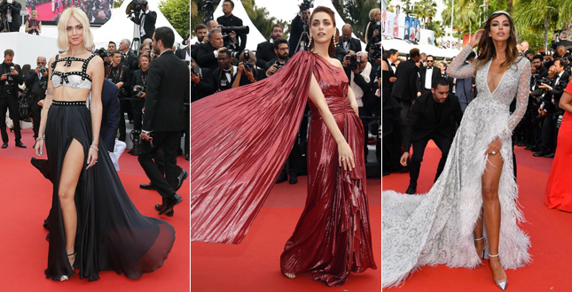 Chiara Ferragni and that wig in Cannes … Photos and videos