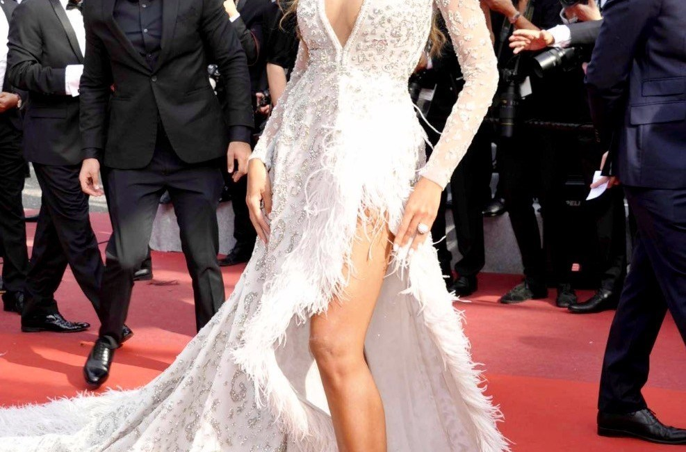Madalina Ghenea, fabulous dress