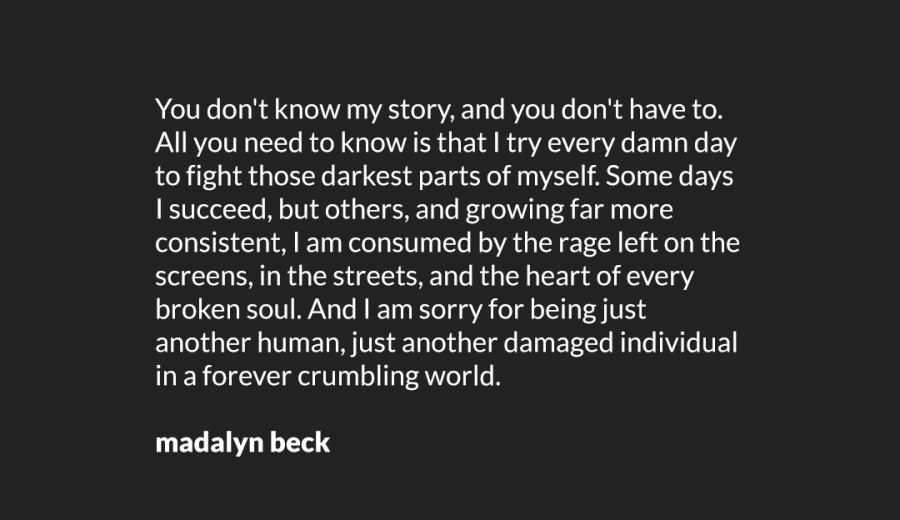 I am Sorry by Madalyn Beck