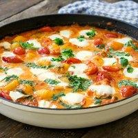 Gnocchi mit Tomatensoße und Mozzarella