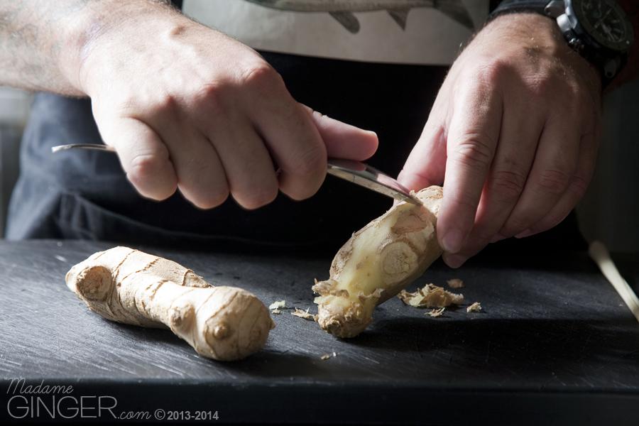 Crème brûlée με ginger & lemongrass