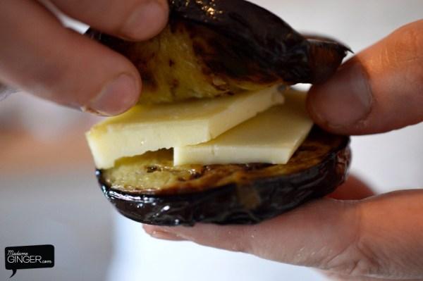 Σαντουιτσάκια μελιτζάνας πανέ