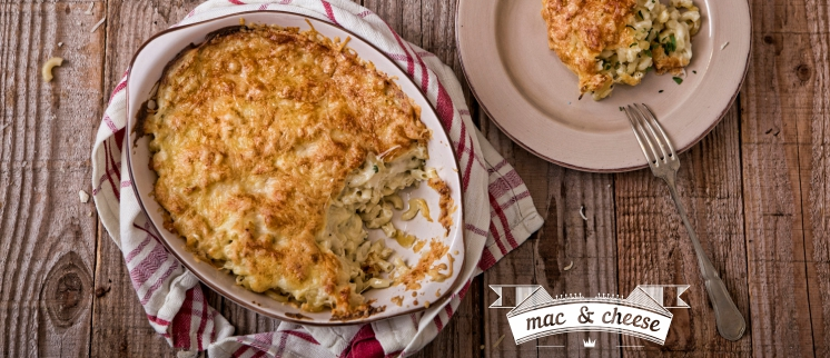 Mac and Cheese (Μακαρόνια με τυρί στον φούρνο)