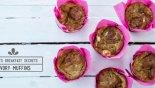 Αλμυρά Muffins με Κολοκυθάκι & Φέτα