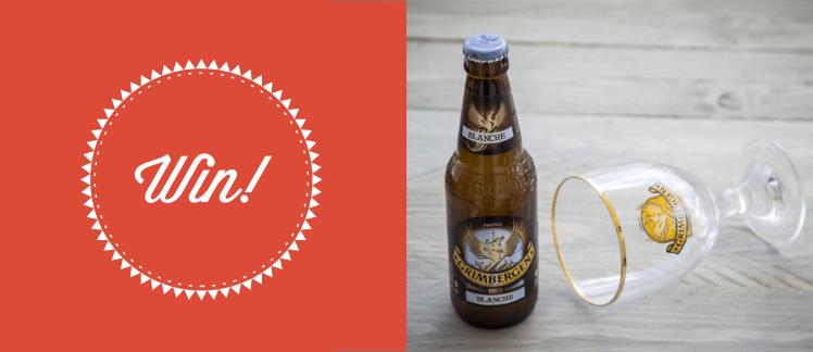 Διαγωνισμός με 10 κιβώτια μπύρες Grimbergen Blanche