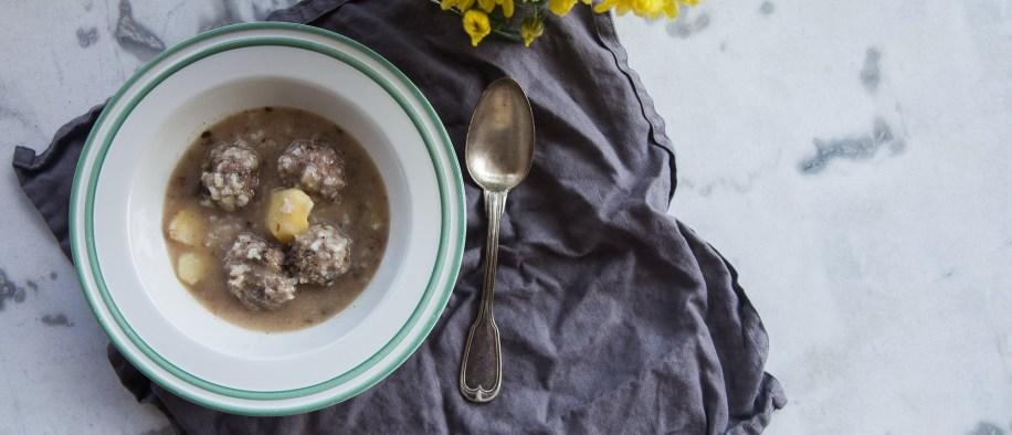 Η ωραιότερη σούπα του χειμώνα: Γιουβαρλάκια!