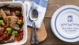 Ψητός τόνος με λαχανικά στον φούρνο