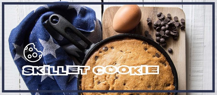 Μπισκότο στο τηγάνι (Skillet Cookie)