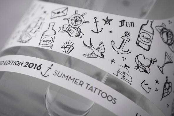 My Summer Tattoos σε φιάλη Skinos!