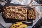 Κέικ μπανάνας χωρίς ζάχαρη (Banana bread)