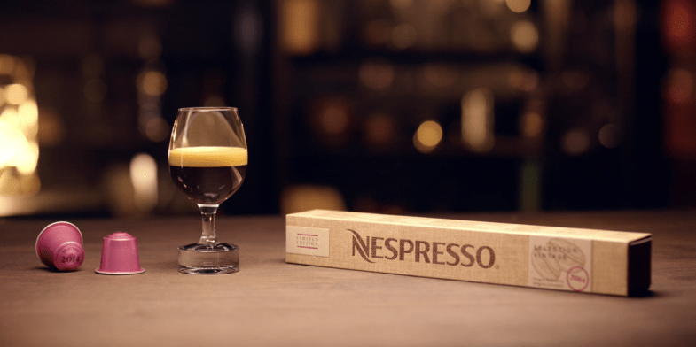 Παλαιωμένος καφές απο τη Nespresso