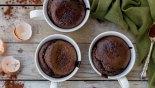 Σοκολατένιο κέικ σε κούπα χωρίς γλουτένη (cake in a mug)