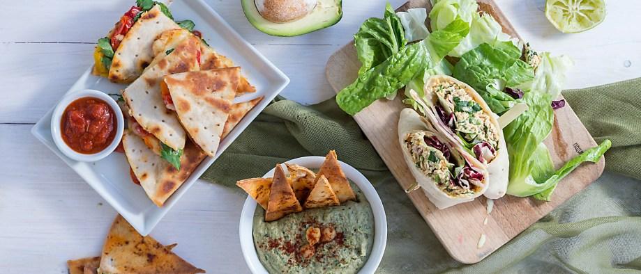 3 λαχταριστές προτάσεις για σνακς με tortilla wraps